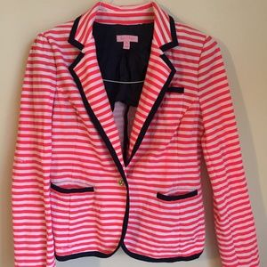 Lilly Pulitzer Striped Blazer size Medium